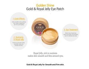 Image 3 - הטוב ביותר קוריאה קוסמטי KOELF זהב מזון מלכות הידרו ג ל עיניים מסכת תיקון 60pcs חלק ועור מוצק העין מסכת PETITFEE תת מותג
