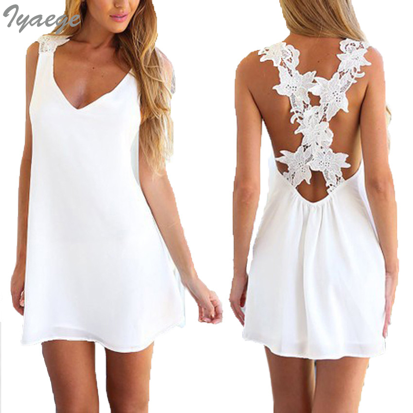Summer Sexy Robe Dresses White Party Flowers Hollow Beach Tunic Dress Chiffon Pareo Ropa Mujer Sarafan