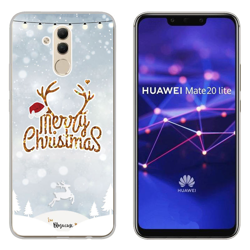 Christmas Case FOR Huawei Mate 20 Lite Soft Silicone Phone Cover FOR Huawei Mate 10 Lite TPU Protective Case FOR Mate 10 Pro