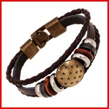 YIWU завод оптом дешевые винтажные браслет Пряжка из сплава Lastest кожаный браслет производитель