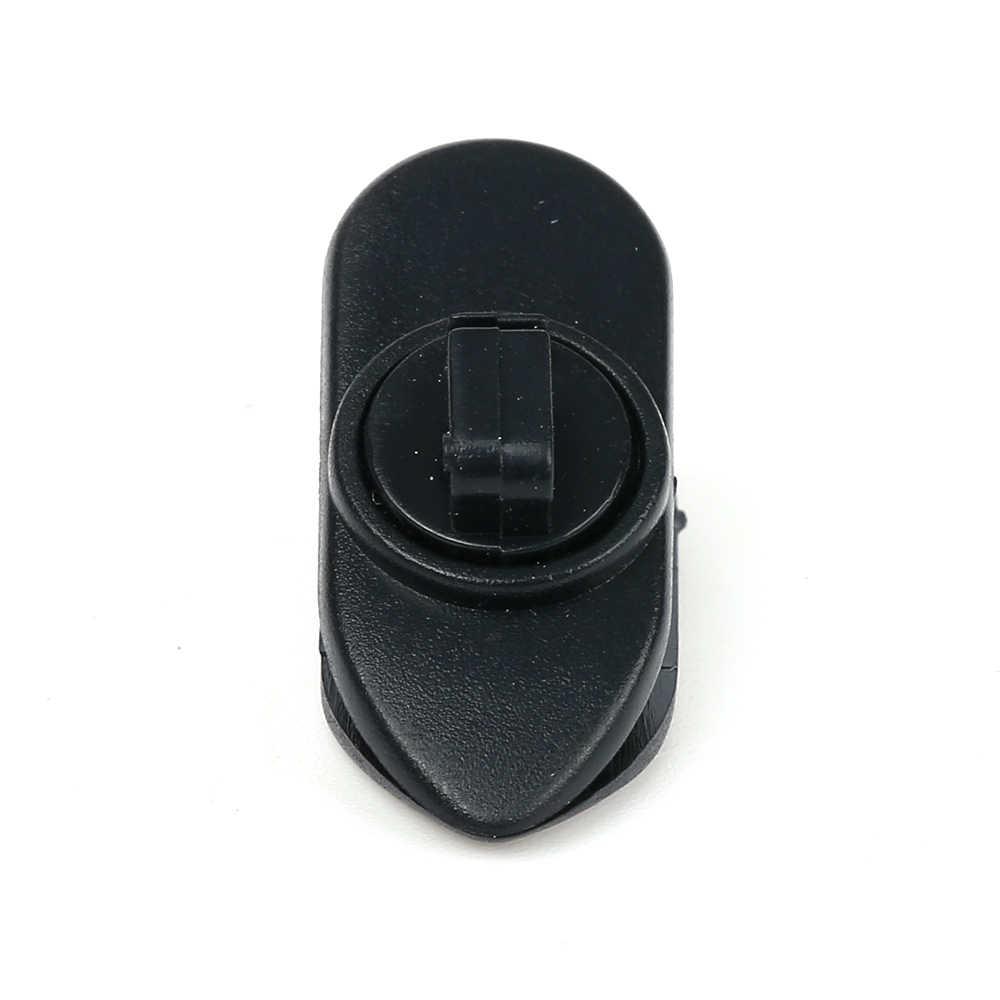 1pcs Headphone Earphone Cable Cord Wire Lead Lapel Clip Nip Clamp Holder Organizer Black Rotate Mount for Lavalier Headphone