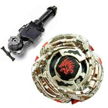 Best Birthday Gift Beyblade String Launcher Beyblade BB121B L-Drago Guardian S130MB + L-R Starter Launcher + Hand Grip+Light Lau(China)
