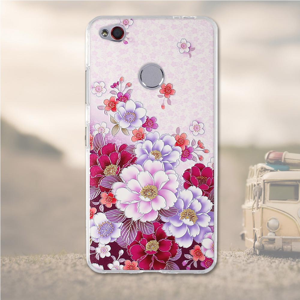 Soft TPU For ZTE nubia N1 Case Silicone Cover for ZTE N1 Cases 3D Relief Flower Mobile Phone Bag for ZTE nubia N1 N 1 n1 Case