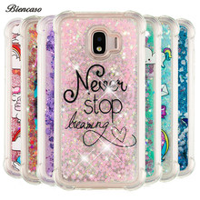 Glitter Dynamic Liquid Bumper Case For Samsung Galaxy A310 A510 A320 A520 A720 J120 J510 J710 J330 J530 J730 Quicksand Cover B31(China)