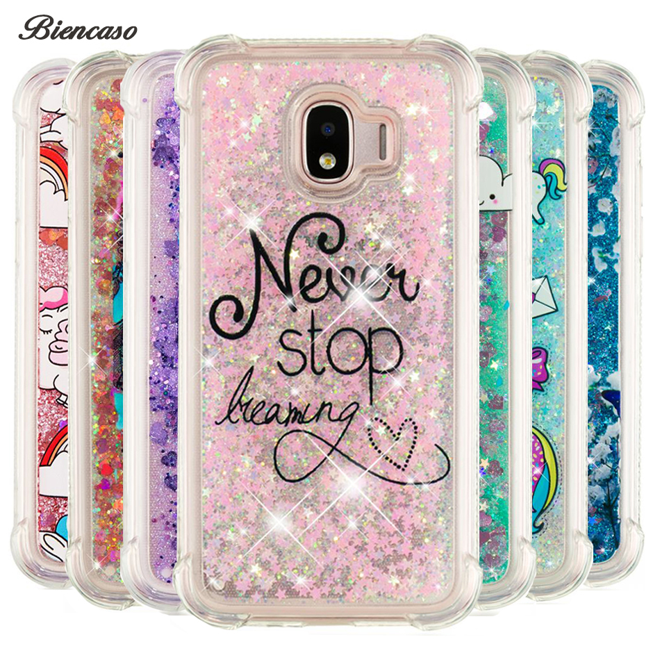 Glitter Dynamic Liquid Bumper Case For Samsung Galaxy A310 A510 A320 A520 A720 J120 J510 J710 J330 J530 J730 Quicksand Cover B31 image