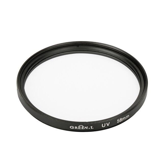 52 mét/58 mét UV lọc đối với Yongnuo YN50mm F1.8 ống kính Máy Ảnh cho Nikon D5300 D3300 D3200 Canon 650D 750D 5D mark III EOS máy ảnh