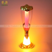 Gold 3 Liters Beer Tower Dispenser with LED Light Ice Tube BT71