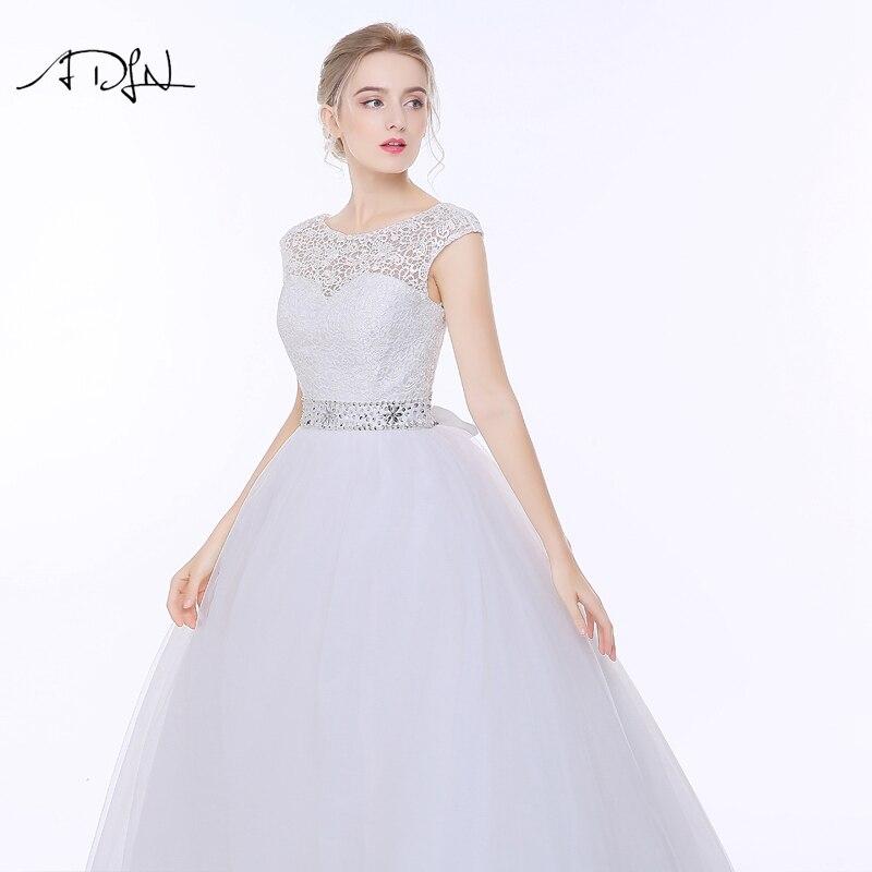 Vestido de Novia de Encaje Elegante ADLN Vestido de Noiva A-line - Vestidos de novia - foto 6
