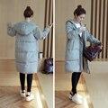 2016 Slim Down Cotton Winter Winter Coat Thick Jacket Size Long Coat Female Students Winter Coat Women Long Down Coat
