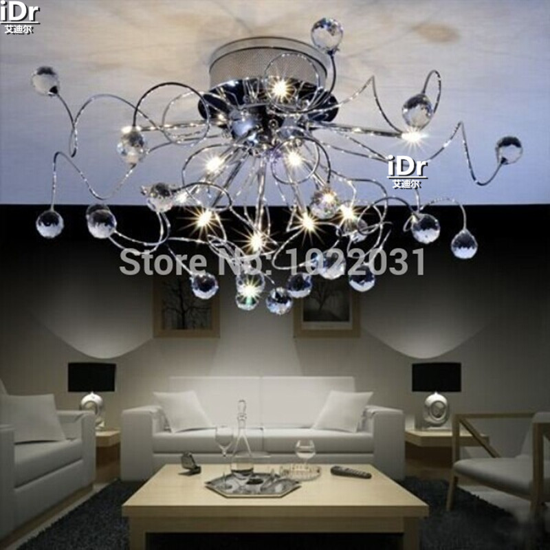 цена на High-end European-style chandelier Crystal Chandelier Light fashion Bedroom lamp Hall lamps Chandelier