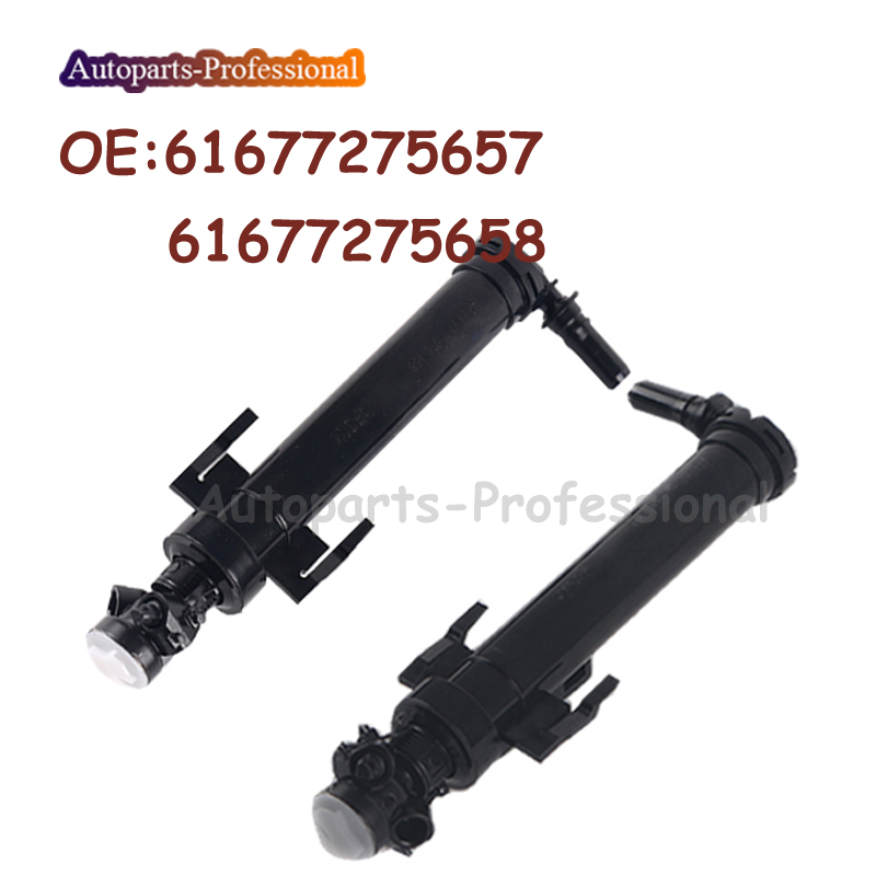 US $9 98 16% OFF|For BMW F30 328i F32 435i 2012 2013 2014 2015 New Car  Front Left&Right Headlight Cleaning Washer Nozzle 61677275657  61677275658-in