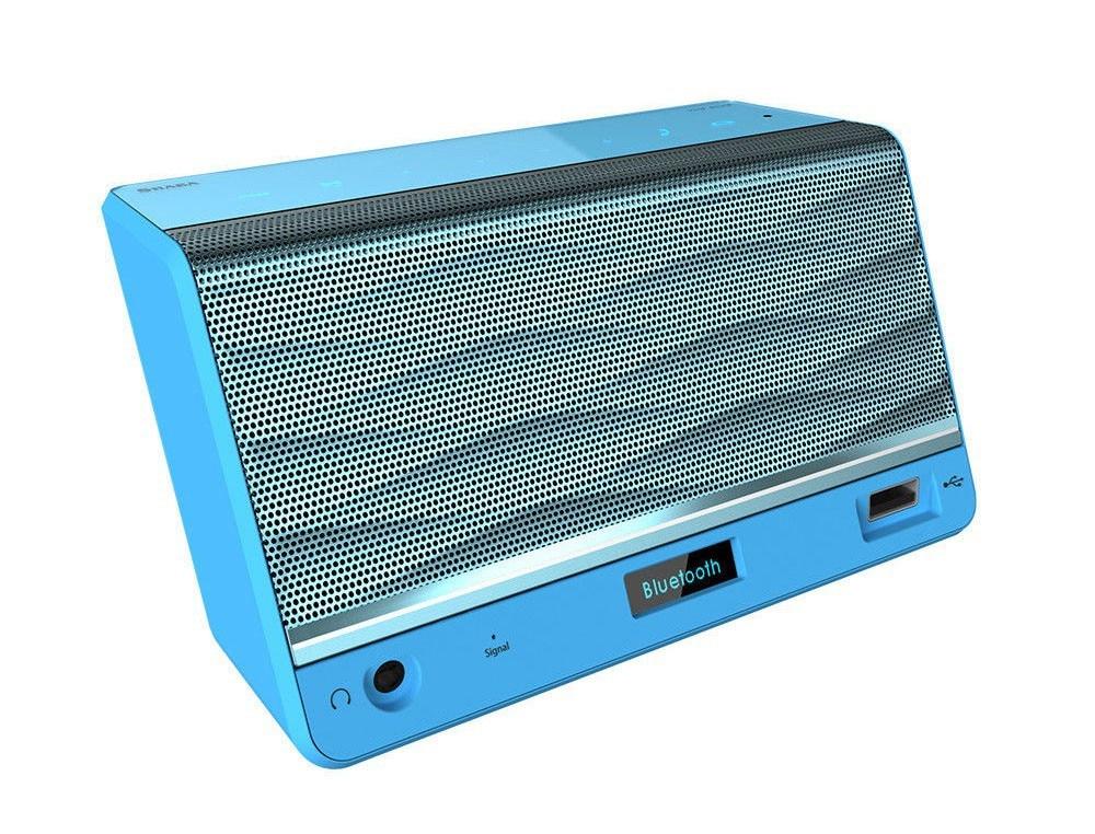 SHABA VS-33 Luxury-Portable HiFi Wireless Bluetooth Speaker Powerful Sound FM/NFC/Handsfree/Mic