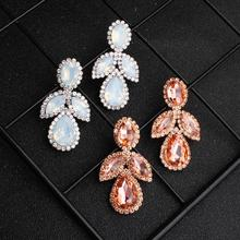 OLOEY Women Jewelry Dangle Earrings Accesorios Mujer Bijoux Femme Luxury Earring Kolczyki Orbellen Pendientes Brincos Aretes