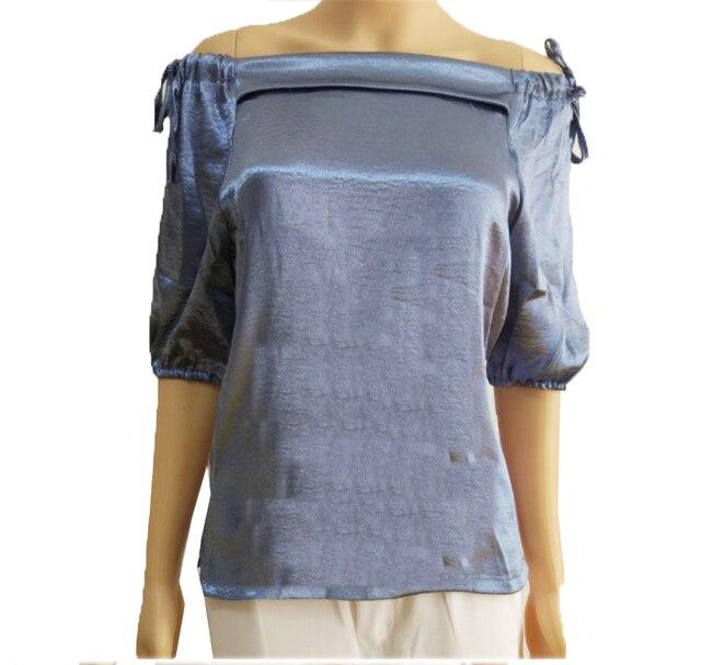 Tipo Nueva Camisetas Slash Verano Moda Mujer De 2017 Para Cuello 0xqdwY0U
