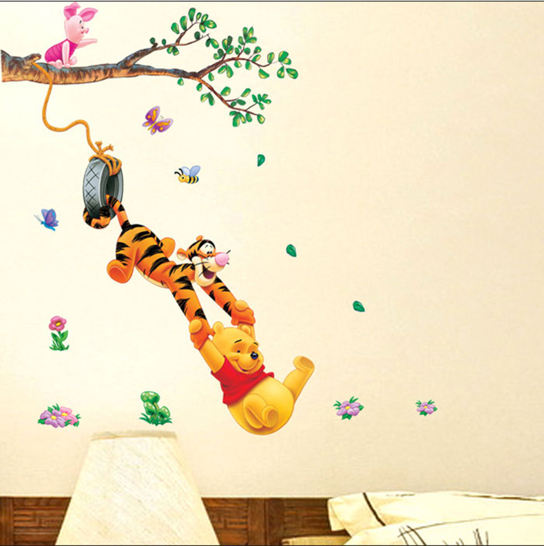 Winnie The Pooh Wall Decals Quotes Vinyl Sticker I Think We Dream So Nursery Baby
