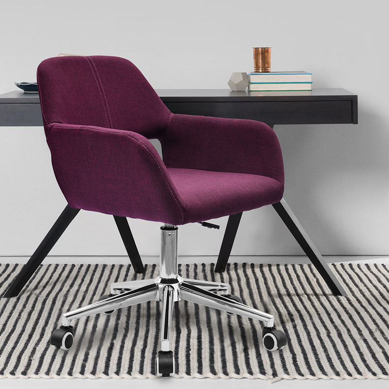 boss office purple chair computer game stool linen seat green blue red grey color seletion free shipping 240337 ergonomic chair quality pu wheel household office chair computer chair 3d thick cushion high breathable mesh