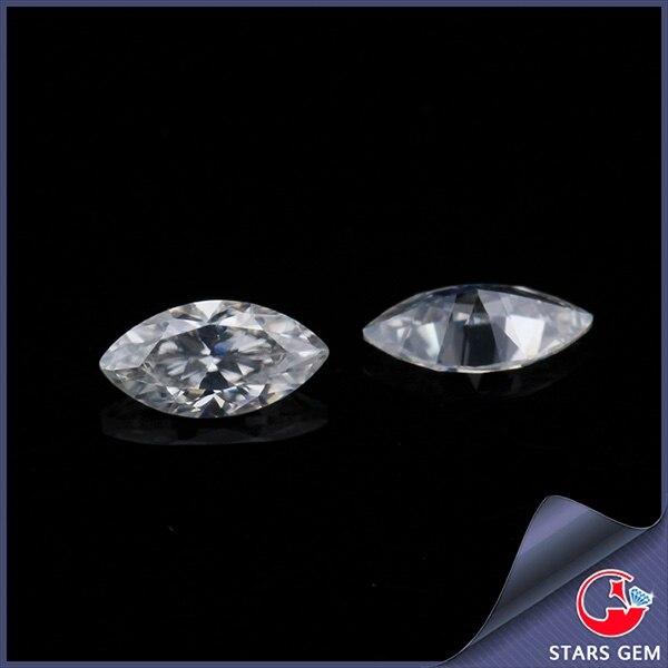 Pierres précieuses Cheestar en vrac moissanites couleur GH 3*6mm taille Marquise Moissanites pierres précieuses pierres synthétiques diamants pierre