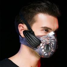 Wireless Rechargeable Smart BT4.0 Headphone Mask Haze Dust Resistant Music