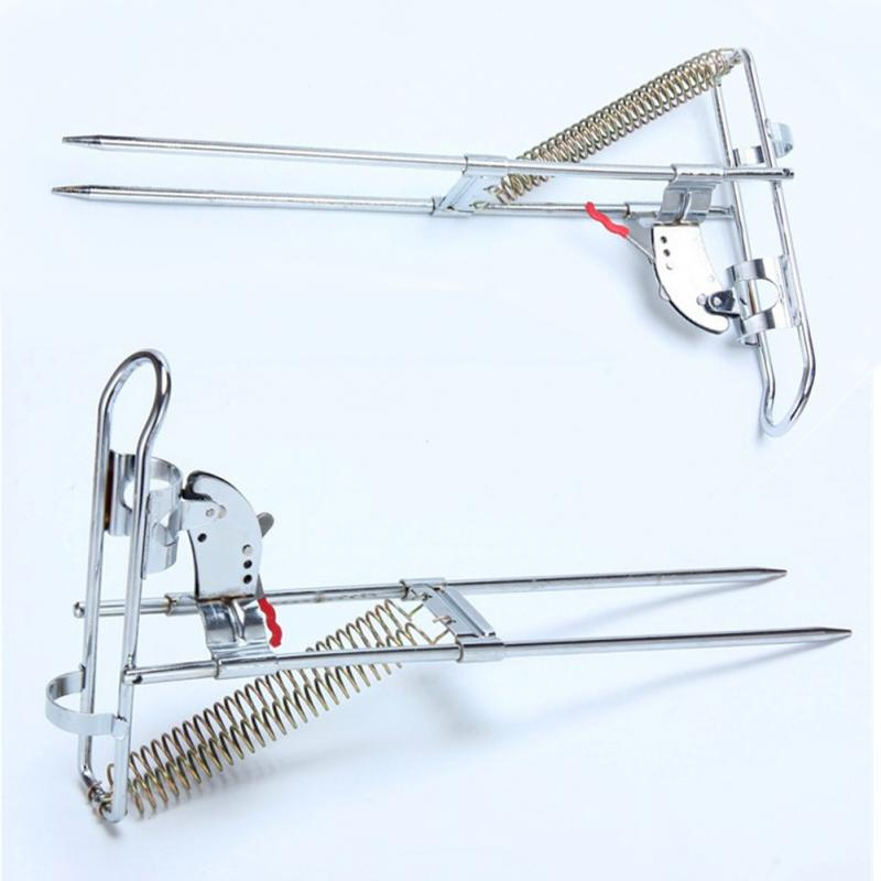Fishing rod pole holder stainless steel automatic fishing for Fishing equipment stores