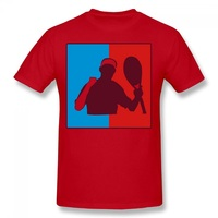 Roger Federer Tennis DIY Print Men T Shirt Sports Short Sleeve Male Shirt Cotton Spring Summer