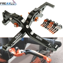 For KTM 990 SUPER DUKE R 1290 GT CNC Motorcycle Brake Clutch Levers Foldable Extendable Adjustable