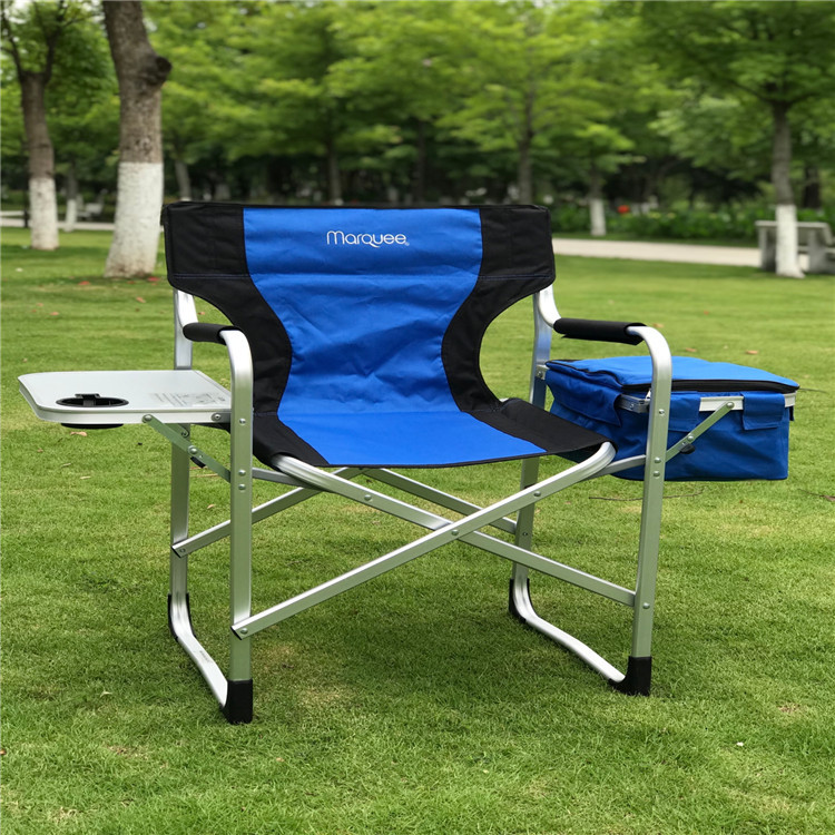4 chairs Folding director chair outdoor fishing chair Aluminum Leisure chair 600D Oxford cloth with Side table Insulation bag 2018 fishing reel bag 4 layer 600d oxford cloth handled dual zipper outdoor storage case container for line bait fishhooks