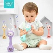 Beiens детские погремушки раннее развитие игрушки 0-12 месяцев Детские музыкальные ручные погремушка забавные развивающие мобильные игрушки подарки