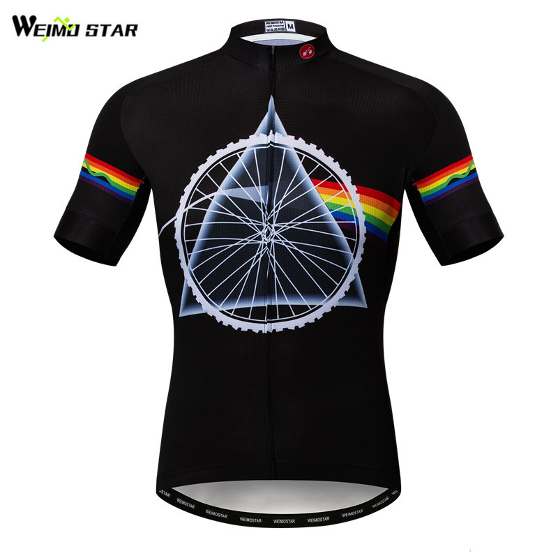 2019 New Cycling Jersey Team Bike Clothing Short Sleeve Bicycle T-Shirt Top