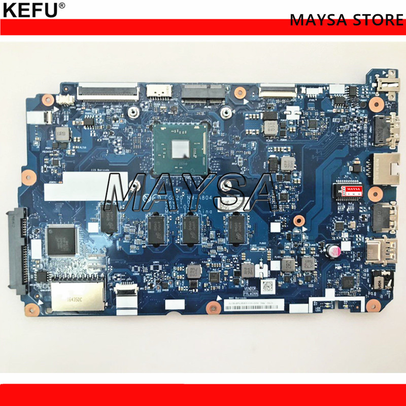 KEFU 5B20L77440 NM-A804 for lenovo IDEAPAD 110-15IBR Laptop motherboard N3060 tested kefu 5b20l77440 nm a804 for lenovo ideapad 110 15ibr laptop motherboard n3060 tested