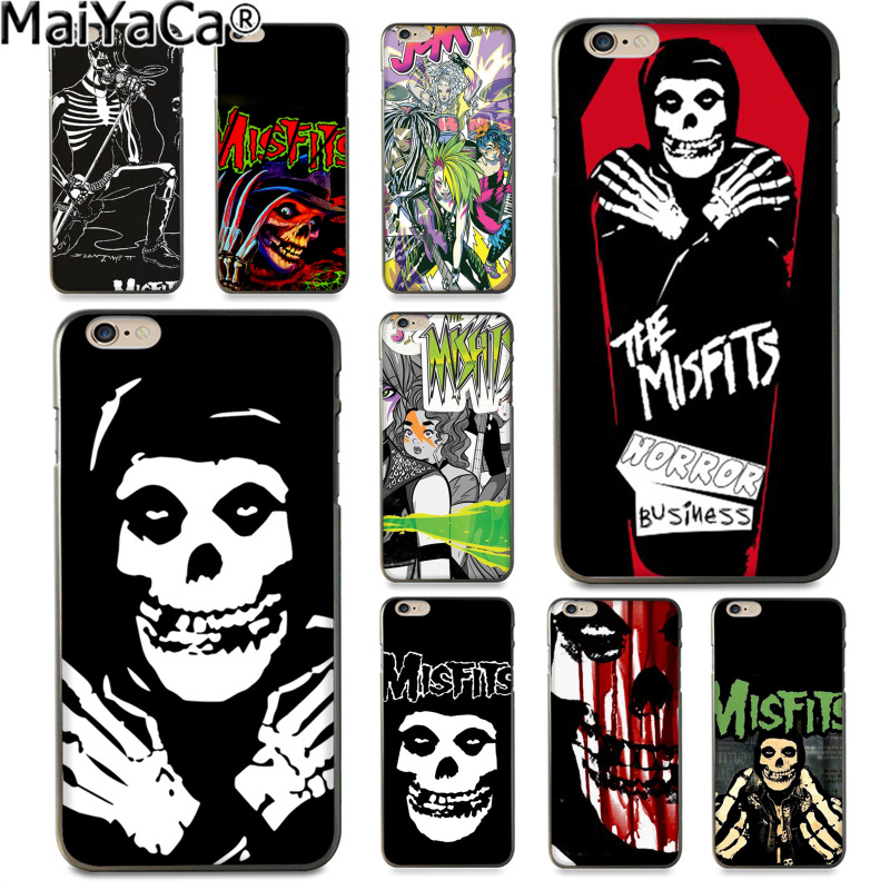MaiYaCa The Misfits Glenn Danzig Colorful Phone Accessories Case for Apple iphone 11 pro 8 7 66S Plus X 5S SE XS XR XS MAX Cover