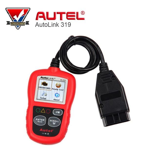 Professional Auto diagnostic Code reader Autel AutoLink AL319 AUTO scan tool update on official website