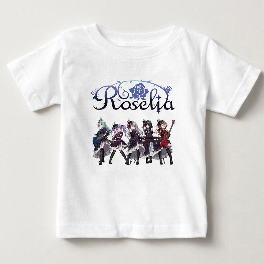 2019 Digital Print Kinder T-shirt Nette Mädchen Cartoon T-shirt Mädchen Kurzarm T-shirt Trendy Baby Mädchen 2019 T-shirt Eine Hohe Bewunderung Gewinnen