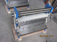 3 In 1 760 Combination Of Shear Brake Roll Machine Multi Function Machinery Tools