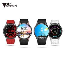 Fashion WIFI GPS 3G Watch Phone Handsfree Waterproof for Android IOS IPS OLED Screen 512MB+4GB 1.39 Inch