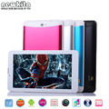 Newkita phablet 7 polegada 3g android dual core tablet pc mtk6572 RAM 512 MB ROM 8 GB Dual SIM card GPS Bluetooth FM Android Tablet