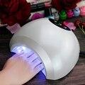 SUN10 Secador de uñas 48 W lámpara de uñas UV LED Auto sensor Esférica Luz Blanca 365 + 405nm Manicura Máquina para Uñas de Gel curado
