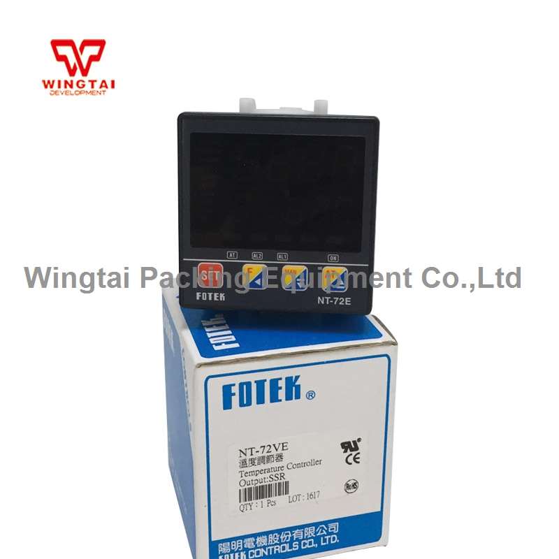 NT-72VE Taiwan Fotek Digital Intelligent temperature controller taiwan fotek digital temperature controller mt72 r