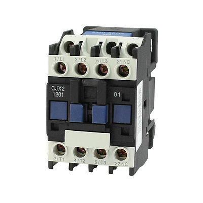 motor control ac contactor 3 phase 3 pole coil 220 volts. Black Bedroom Furniture Sets. Home Design Ideas
