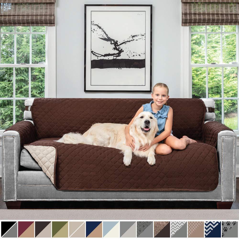 Levendig 1/2/3 Seat Waterdichte Gewatteerde Sofa Covers Voor Honden Huisdieren Kids Anti-slip Couch Fauteuil Kussenovertrekken Fauteuil Meubels Protector