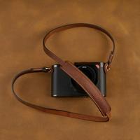 [AYdgcam] Handmade Genuine Leather Camera Strap Camera Shoulder Sling Belt For Canon Nikon Sony FUJI Fujifilm Leica Pentax