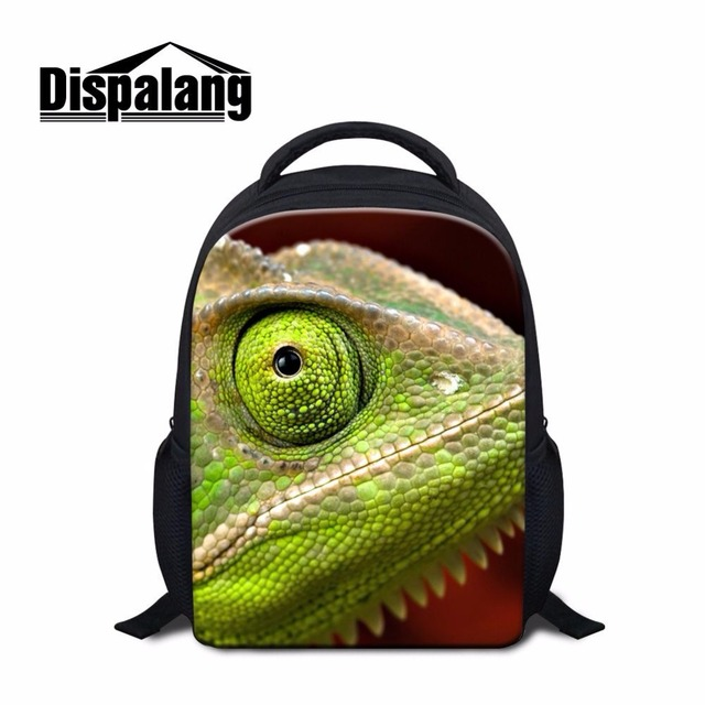a4447756efdb US $21.32 |Dispalang newest small child school bag chameleon tree frog  print children kindergarten backpacks ultralight kids book bags-in  Backpacks ...
