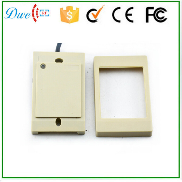 DWE CC RF 125KHz and 13.56MHz combi frequency  rfid access control card reader wiegand 26 wiegand 34 bits dwe cc rf rfid card reader 125khz emid or 13 56mhz mf wiegand 26 backlight keypad reader for access control system 002p