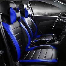 цена на car pu leather seat covers for JAC K5/3 iev b15 A13 RS refine s3 s2 s5 Brilliance AutoV3/5/H220/230/530/320 FRV/FSV/cross/wagen