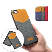 Leisure Women Man Case For IPhone 7 V Neck PU Back Cover Fashion Hit Color Leather