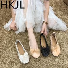 HKJL 2019 flat bottom fashion Korean summer single shoes female new wild soft fairy A938
