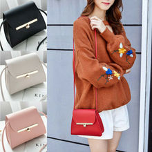 Women Girl Tote Messenger Bags Lady PU Handbag Cross Body Bag Shoulder Bag Purse tuladuo retro handbag tote purse vintage shoulder bag full ball women cross body bags doctor bag letter scrub leather handbag
