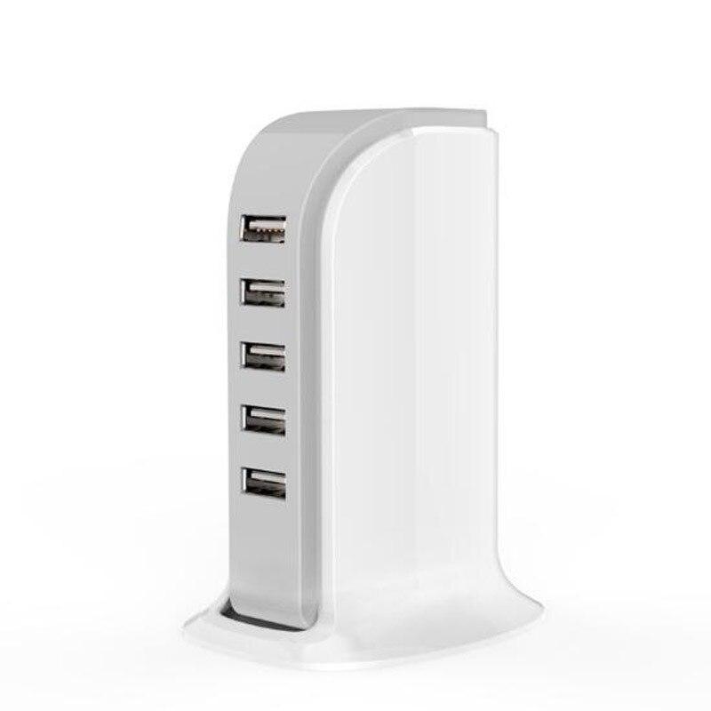 רב יציאת מטען 5 USB 30W טעינה מהירה עבור 5S iPhone 6 6 7 בתוספת SE iPad Samsung Huawei ZTE נקסוס Lenovo AC Power Adapter