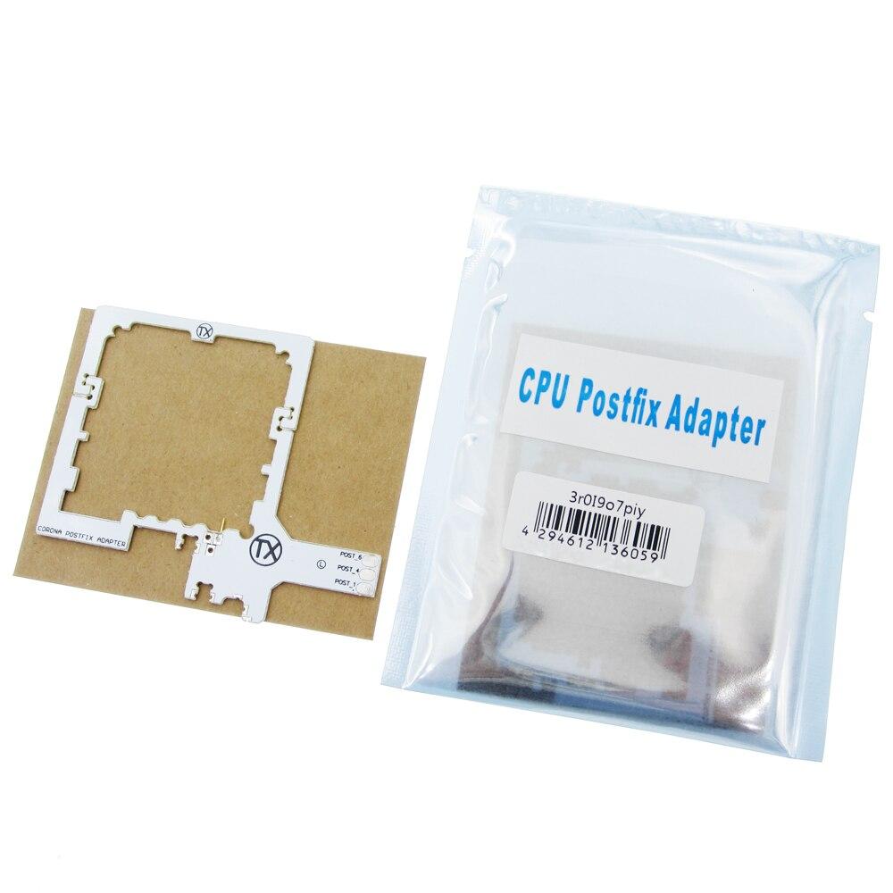new 50pcs lot Corona Postfix Adapter V3 V4 CPU POSTFIX Adapter Corona V3 V4 made in