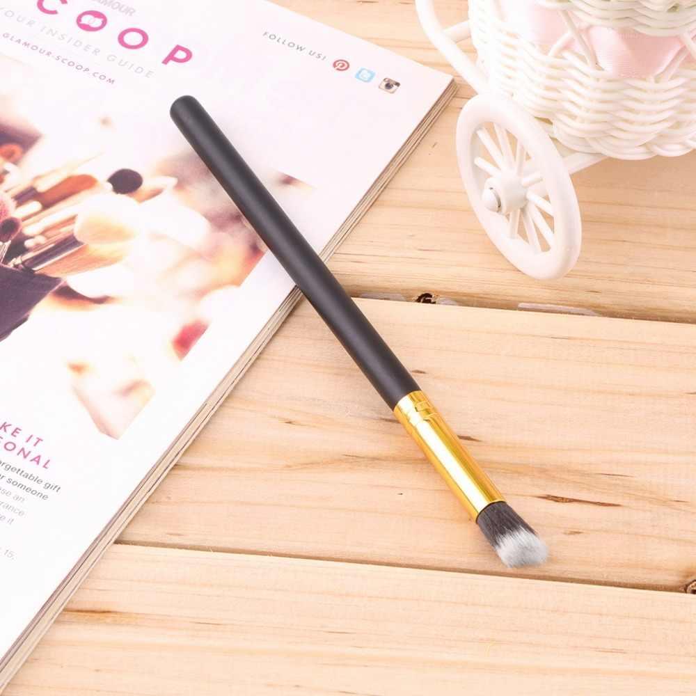Make Up Kosmetik Bubuk Foundation Brush Blush Siku Datar Dasar Cair Kuas Make Up Kosmetik Alat Kuas untuk Make Up Baru