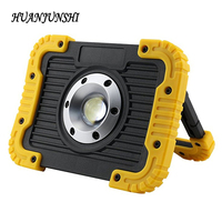 NEW 10W Rechargeable COB LED Working Light Floodlight Outdoor Portable Camping Lamp Spotlight 8800mAH USB Charging